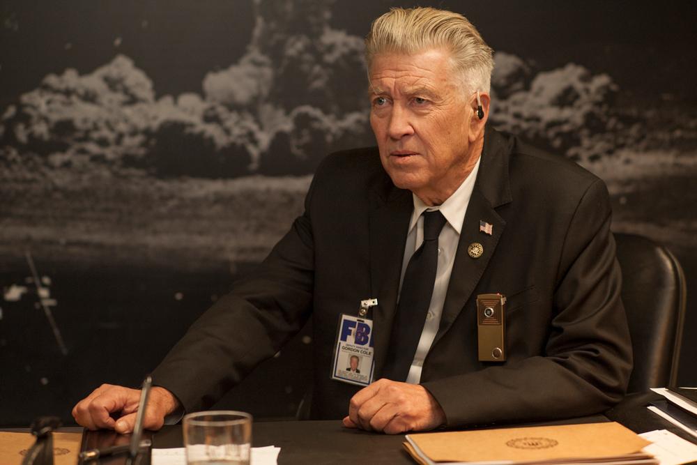 David Lynch as Gordon Cole.