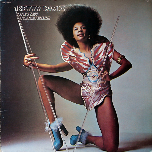Album cover of Betty Davis's 'They Say I'm Different'