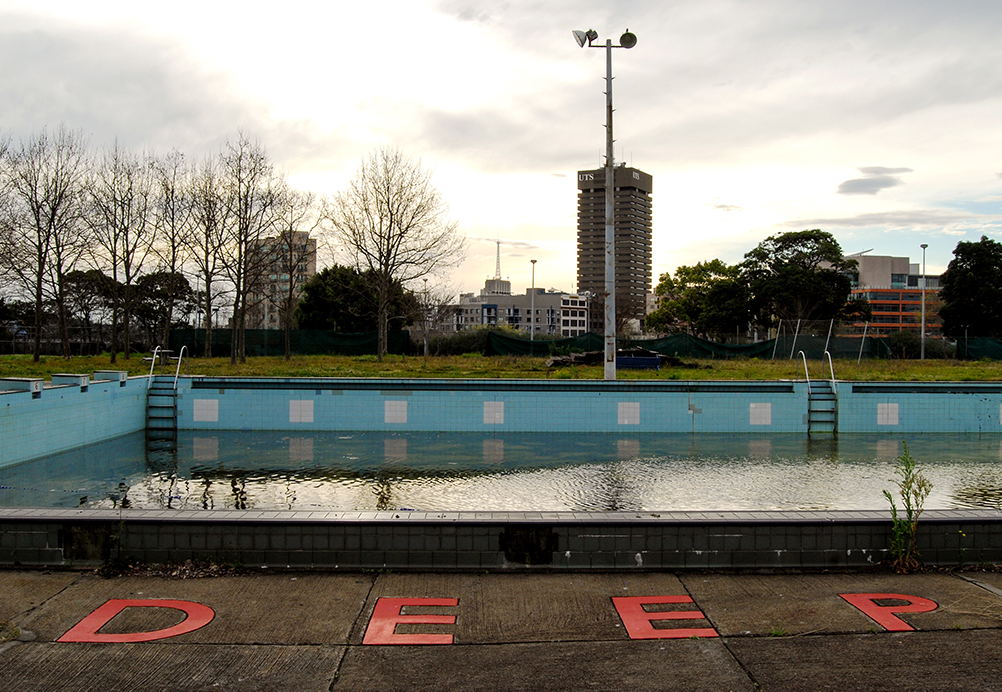 Prince Alfred Municipal Pool. Photography by Johnny Barker