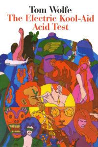 Colourful book cover of 'The Electric Kool-Aid Acid Test'