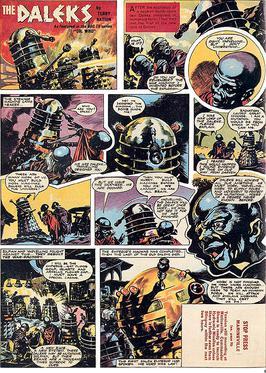 dalek comic by Richard E. Jennings.